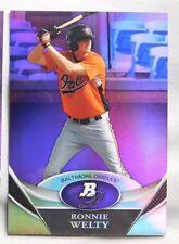 2011 Bowman Platinum Purple Ronnie Welty Orioles #BPP14 Baseball Card