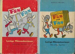 fix und fax lustige mäuseabenteuer Band 1 und 2