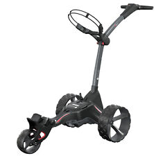 Motocaddy M1 DHC Electric Foldable 3 Wheel Golf Caddy Cart, Red (Used)
