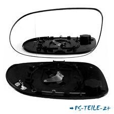 Spiegelglas für MERCEDES SL-KLASSE R129 1998-2002 links asphärisch fahrerseite