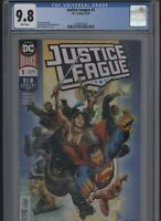 Justice League #1 CGC 9.8 Scott Snyder JIM CHEUNG 2018