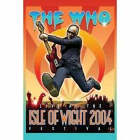 WHO LIVE AT THE ISLE OF WIGHT 2004 FESTIVAL DVD ALL REGIONS NTSC NEW