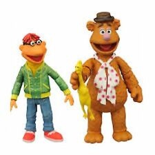 Diamond Select The Muppets Fozzie & Scooter Series 1 Action Figures Jim Henson