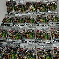 Lego 71027 Series 20 Minifigures Lot of 20 Sealed Unsearched Packs