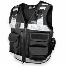 Protec Black One Size Fits All Utility Tactical Vest