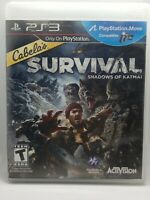 PS3 Cabela's Survival: Shadows of Katmai Vidoe Game PlayStation 3