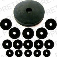 """TAP WASHERS RUBBER ASSORTED SIZES (3/8"""" 1/2"""" 3/4"""") Pack of 15 (Sink, Bath Leak)"""