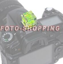Hot Shoe Bubble Spirit Level FLASH CAMERA ADAPT FOR NIKON D7200 D7100 D7000 D40