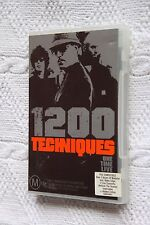 1200 Techniques One Time Live (DVD), R-4, Like new, free shipping in Australia