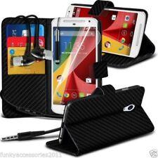 Fundas y carcasas de piel sintética para teléfonos móviles y PDAs Motorola