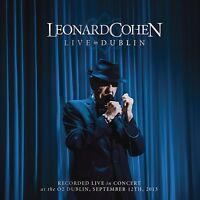 LEONARD COHEN - LIVE IN DUBLIN 4 CD NEU