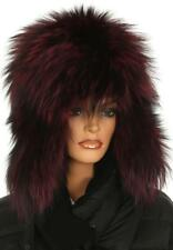 NEW MONCLER LADIES FABULOUS 100% FOX FUR WINTER HAT M MEDIUM