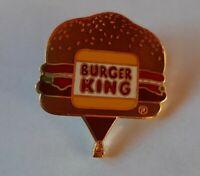 Vintage Burger King 1988 Hot Air Balloon Festival Pin Pinback Limited 1/500