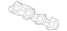 Genuine Ford Exhaust Manifold 7L1Z-9431-A