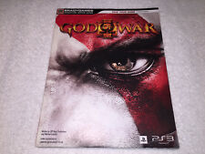 God of War III (Brady Strategy Guide: PlayStation 3, PS3) Complete Nice!
