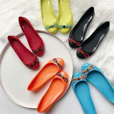 WOmen's Candy Color Jelly SLip On Loafers Summer Sandals Flats SLippers Shoes