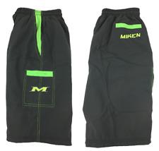 Miken Microfiber Shorts Grey/Green/Volt 2XL