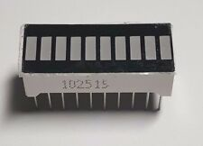 Barra de luz de 10 segmentos-Indicador Led Rojo - 10 pin-Reino Unido Libre P&P