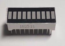 10 Segment Light Bar - RED LED Indicator - 10 Pin - UK Free P&P