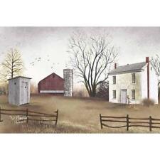 Billy Jacobs No Plumbing  Farm  Art Print 18 x 12