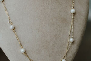 Tiffany & Co Elsa Peretti Pearl by the Yard Necklace