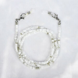 Rice Bead MASK Hanging Chain Glasses Decor Necklace Beauty Lanyard Glasses Rope