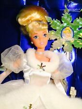 Mattel DisneyHoliday Cinderella Barbie Doll Vintage Holiday Ornament