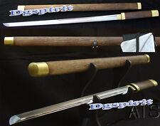 """39.4"""" Handmade Japanese Ninja Straight Sword Rose Wood"""