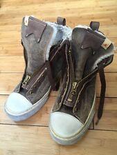 VISVIM Hand Made Sneaker Faux Suede Shearling Shoe Vans Skagway Men 8 9 Unisex