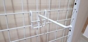 Netting hook hanger x10 pcs display clothes display used secondhand