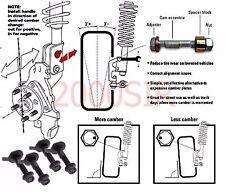 Fits Subaru Camber Kit Legacy SVT 4 Bolts FRONT & REAR SET