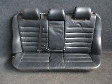 LEDER Rücksitzbank Rückbank Audi S4 A4 B5 Avant Ausstattung SOUL schwarz