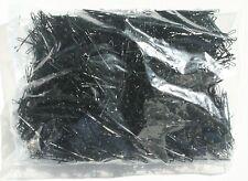 1kg (ca.1320St.) Haarklemmen glatt schwarz 5 cm 50 mm Haarklammer Haarnadeln