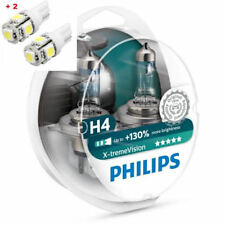 Philips X-Treme Vision H4 130%+ Twin - 2 free LED T10/W5W