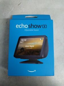 Echo Show 8 - HD smart display with Alexa - Charcoal (Black) Brand New #47