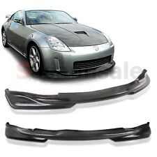 Made for 2003-2005 Nissan 350Z Z33 JDM Style Front Lip Spoiler POLY URETHANE