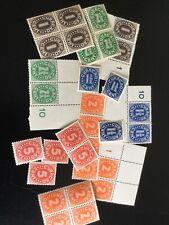 Curacao, Mooi Kavel, Veel Postfris, Cijferzgels
