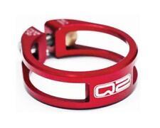 Q2 Elite Seatpost Clamp Red 31.8mm Bike