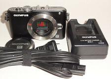 Olympus PEN Lite E-PL3 12.3MP Digital Camera -Black Body Only