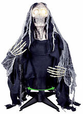 HALLOWEEN ANIMATED GROUND BREAKER GHOUL  LIGHTS  SOUNDS PROP DECORATION HAUNTED
