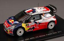 Citroen Ds3 Wrc Red Bull #2 Winner Rally France 2011 S.Ogier SPARK 1:43 S3324