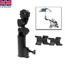 Adjustable Golf Umbrella Brolly Holder Cart Accessory Plastic for Trolley