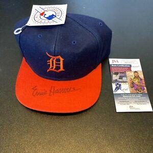 Ernie Harwell Signed Autographed Detroit Tigers Baseball Hat JSA COA