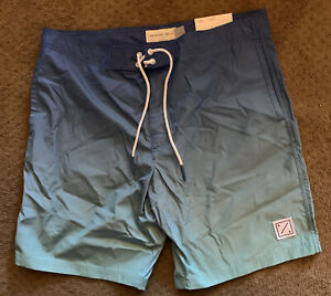 New With Tags MENS AMERICAN EAGLE BLUE TEAL SWIM Hombre BOARD SHORTS SIZE Large