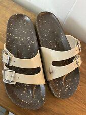 Womans Sandal 39 8 Slides Cork