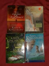 KAREN KINGSBURY Lot of 4 Paperback Novels: CHANCE Found SUNRISE Time To Dance