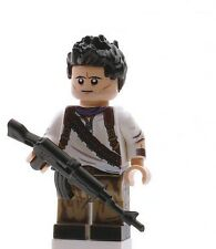 Nathan Drake Uncharted Minifigure movie game Custom toy figure video game