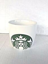 2016 Starbucks Big Green White Coffee Mug Tea Cup Mermaid Logo 16.9 oz Brew