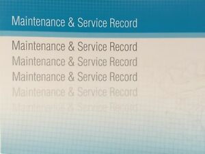 Mazda Generic Replacement Car Service History Book New Handbook Blank B