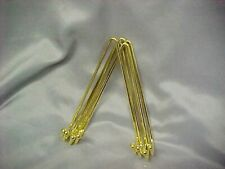 """LOT 5 Heavy Duty Gold Brass Wall Display Hangers for 6"""" to 11"""" Plate  free ship"""